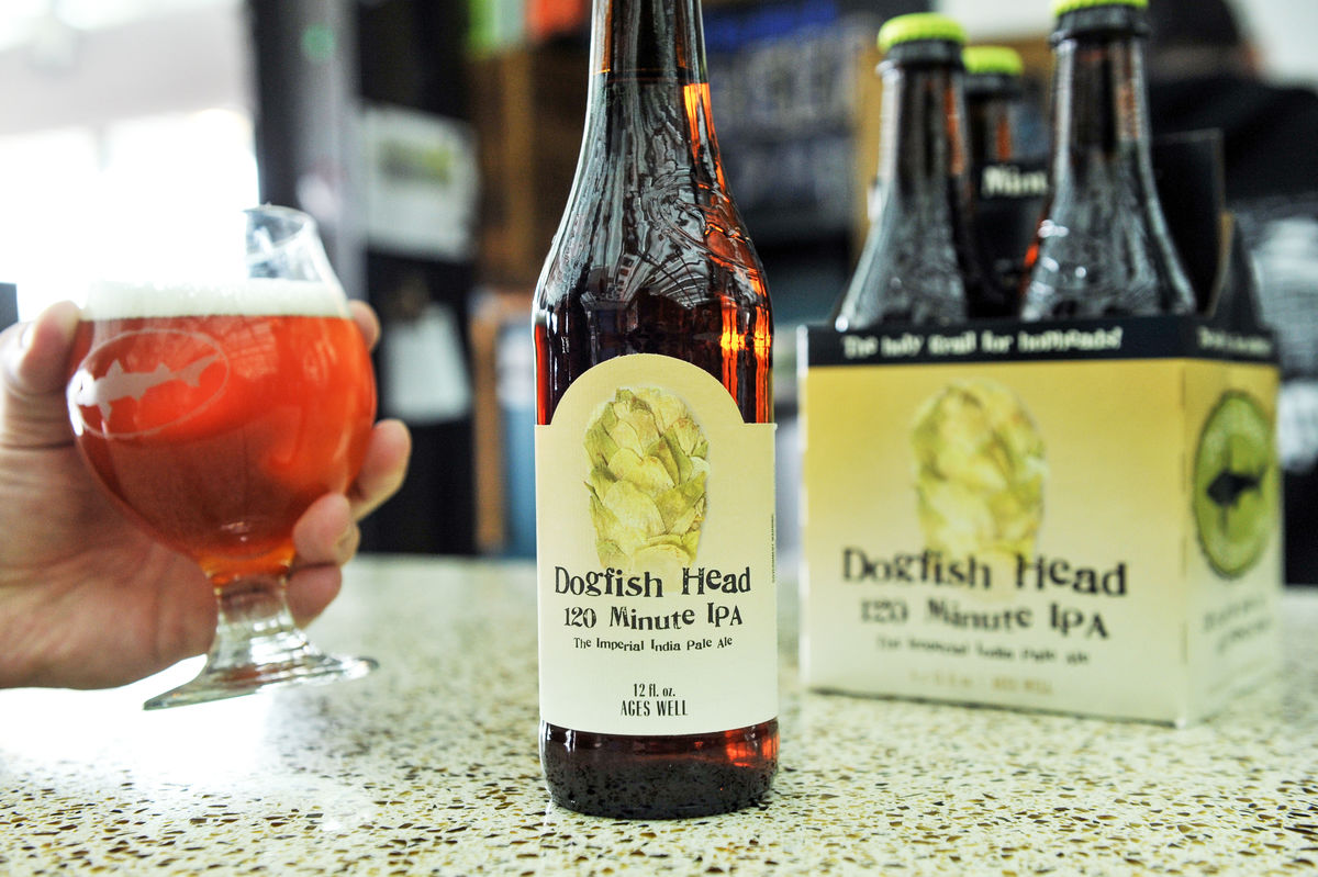 120 Minute IPA Dogfish Head Brewing Company