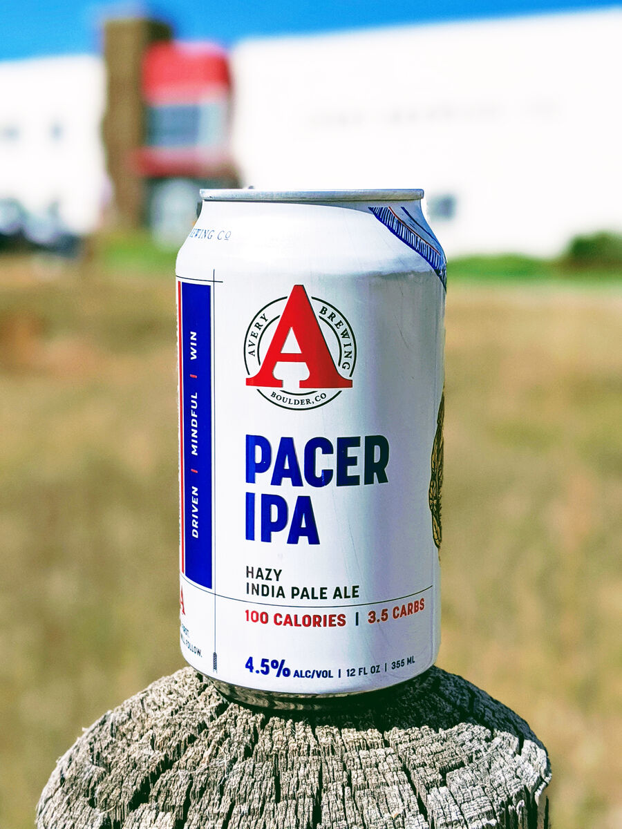 pacer ipa avery brewing co. low-calorie beer