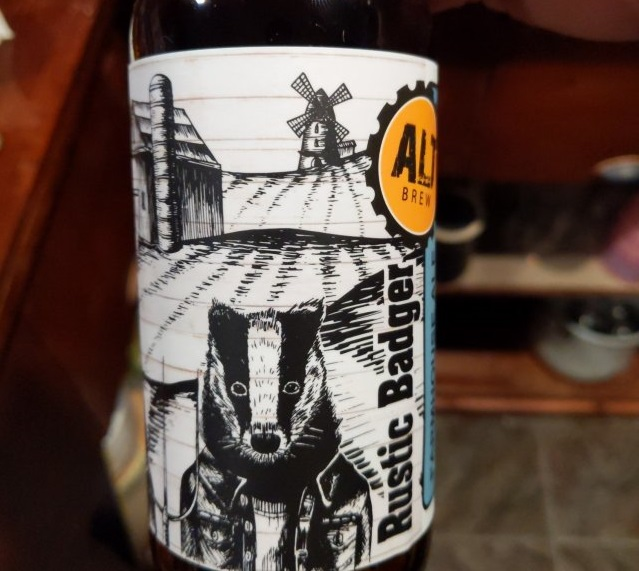 Rustic Badger Farmhouse Ale by Alt Brew