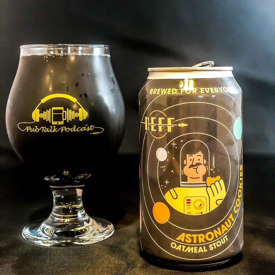 Astronaut Cookies Oatmeal Stout by New Era: Fine Fermentation