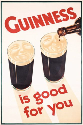 Guinness advertisement historic