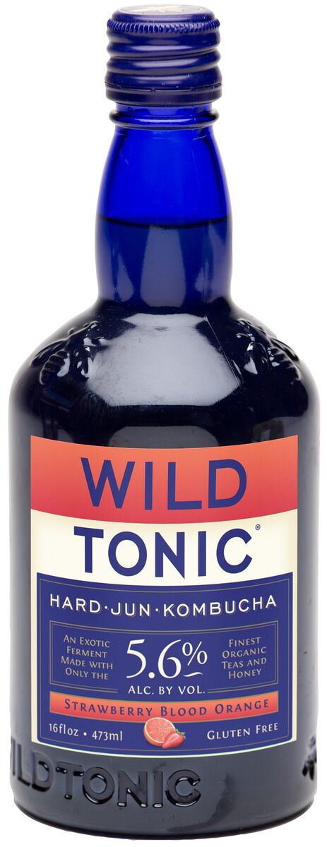 Wild Tonic Hard Jun Kombucha 5.6% ABV