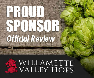 Willamette Valley Hops - Proud Sponsor of the Official Review