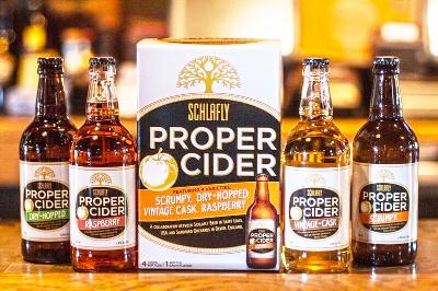 Schlafly Beer Introduces Proper Cider Collabroation