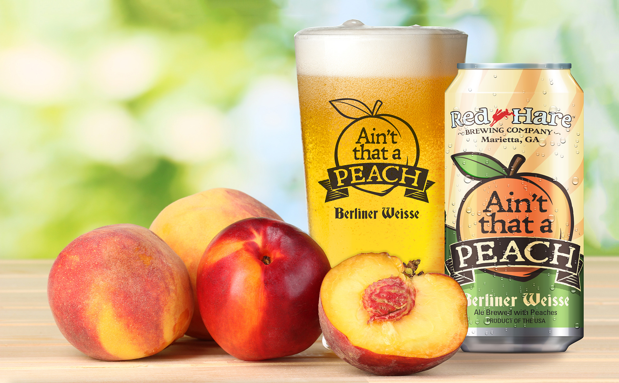 Red Hare Introduces The Berliner Weisse That's Peach at the