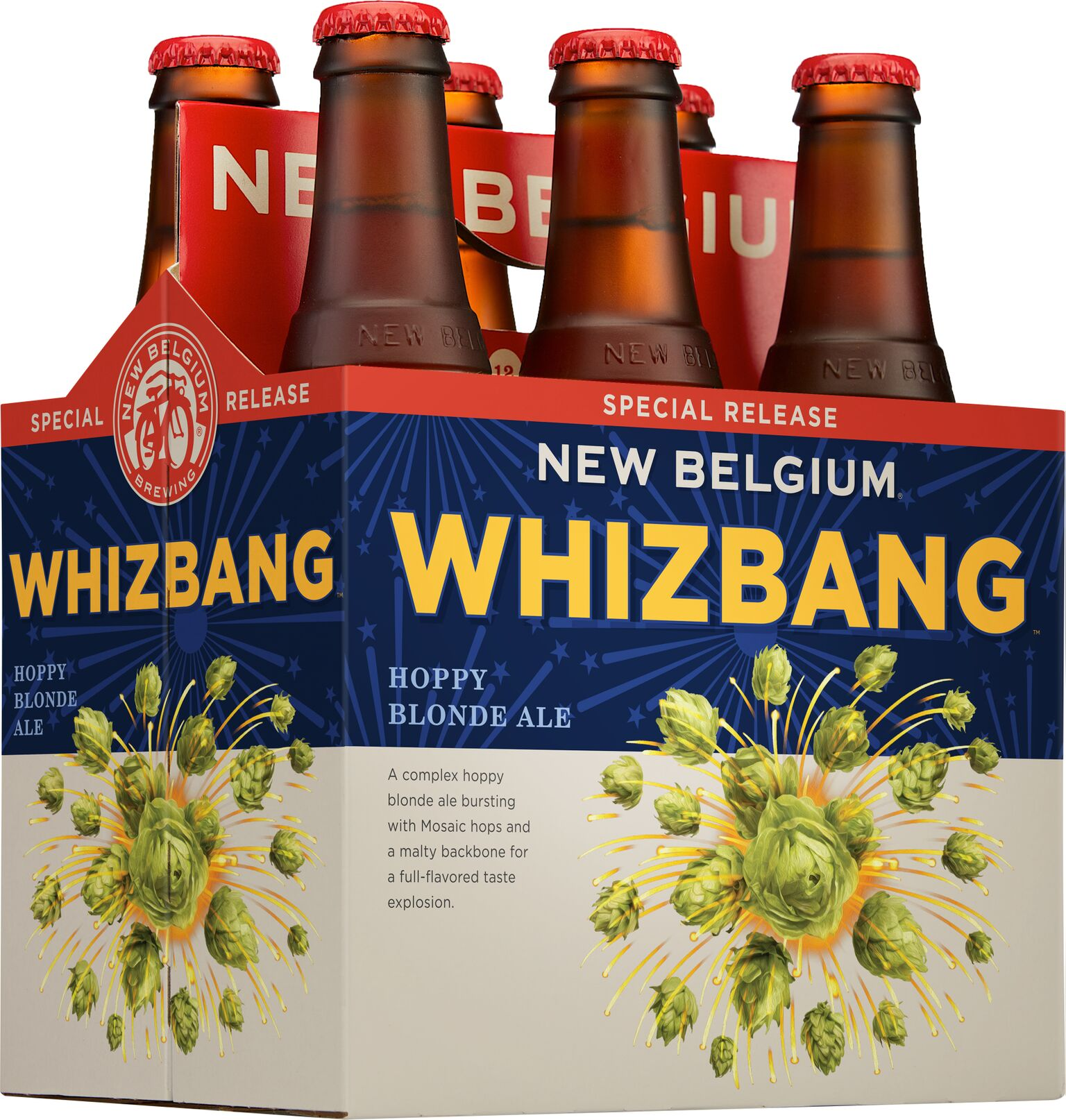 whizbang seasonal released by new belgium brewing co the beer