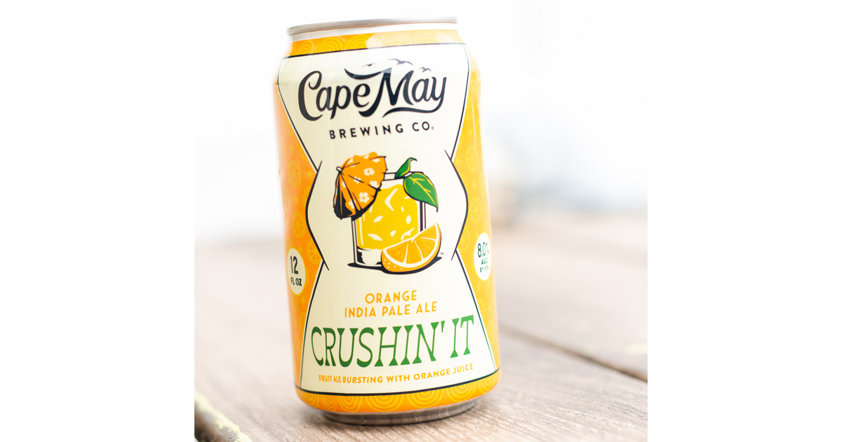 Cape May Brewing Co. Releases Crushin' It IPA | The Beer Connoisseur