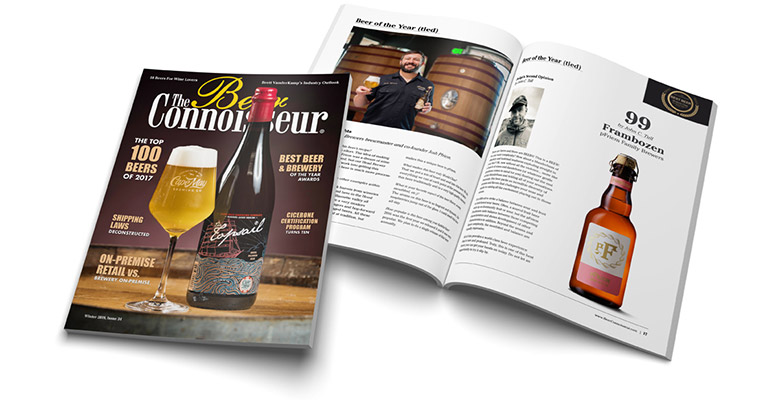 The Beer Connoisseur Store: Annual Print Edition