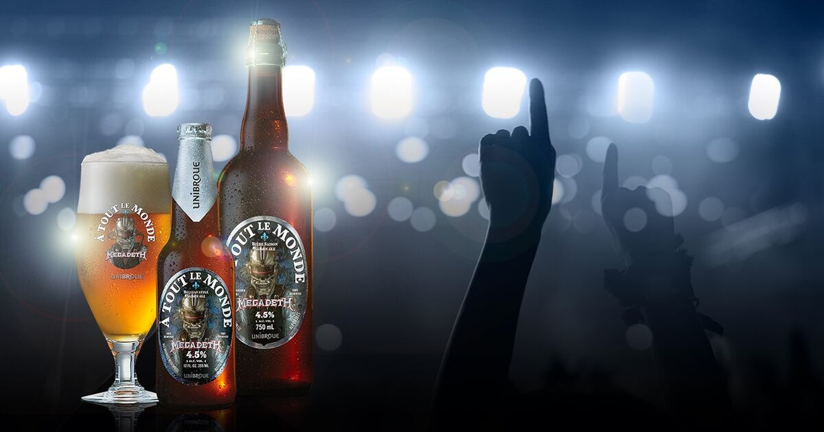unibroue a tout le monde megadeth collaboration beer
