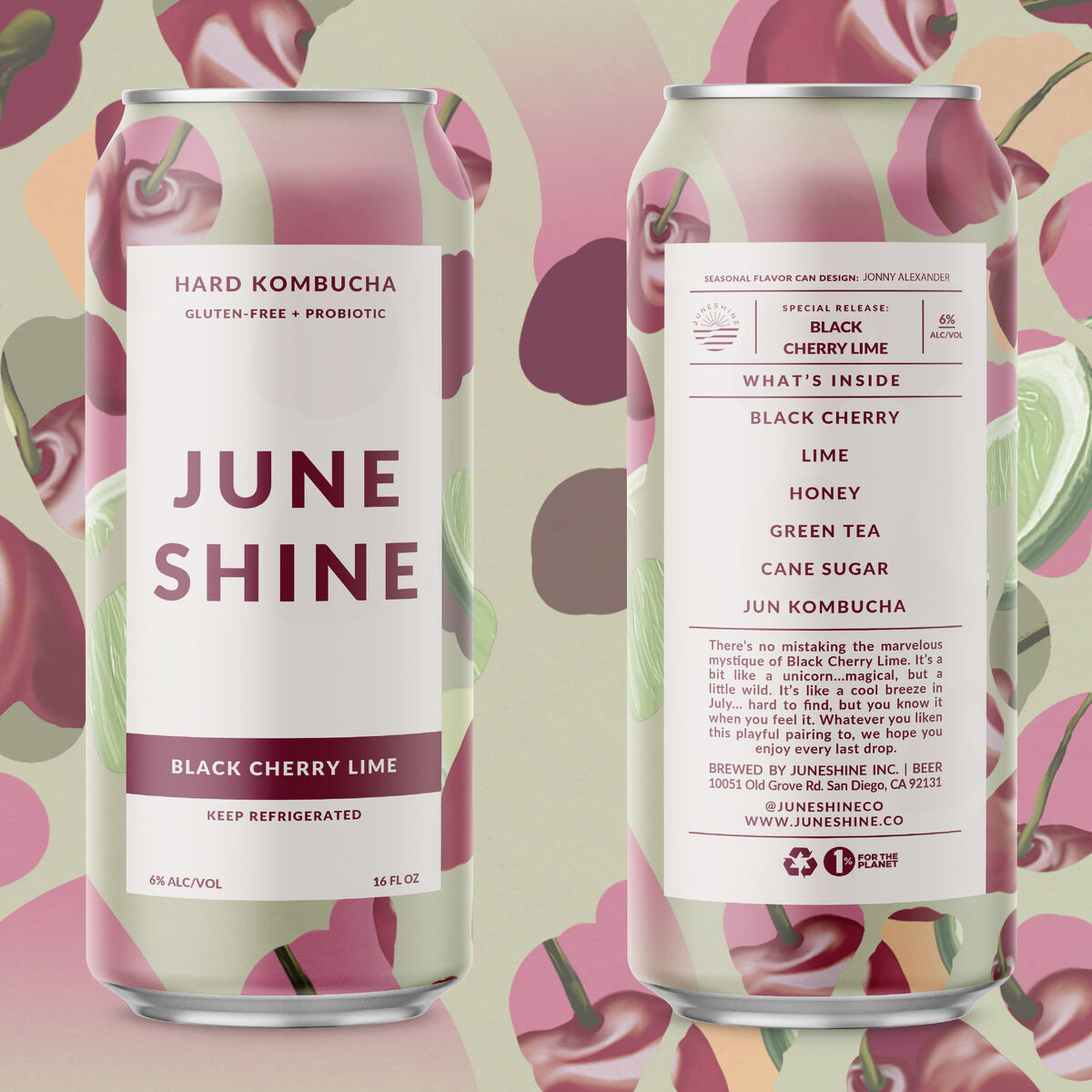 June Shine Hard Kombucha