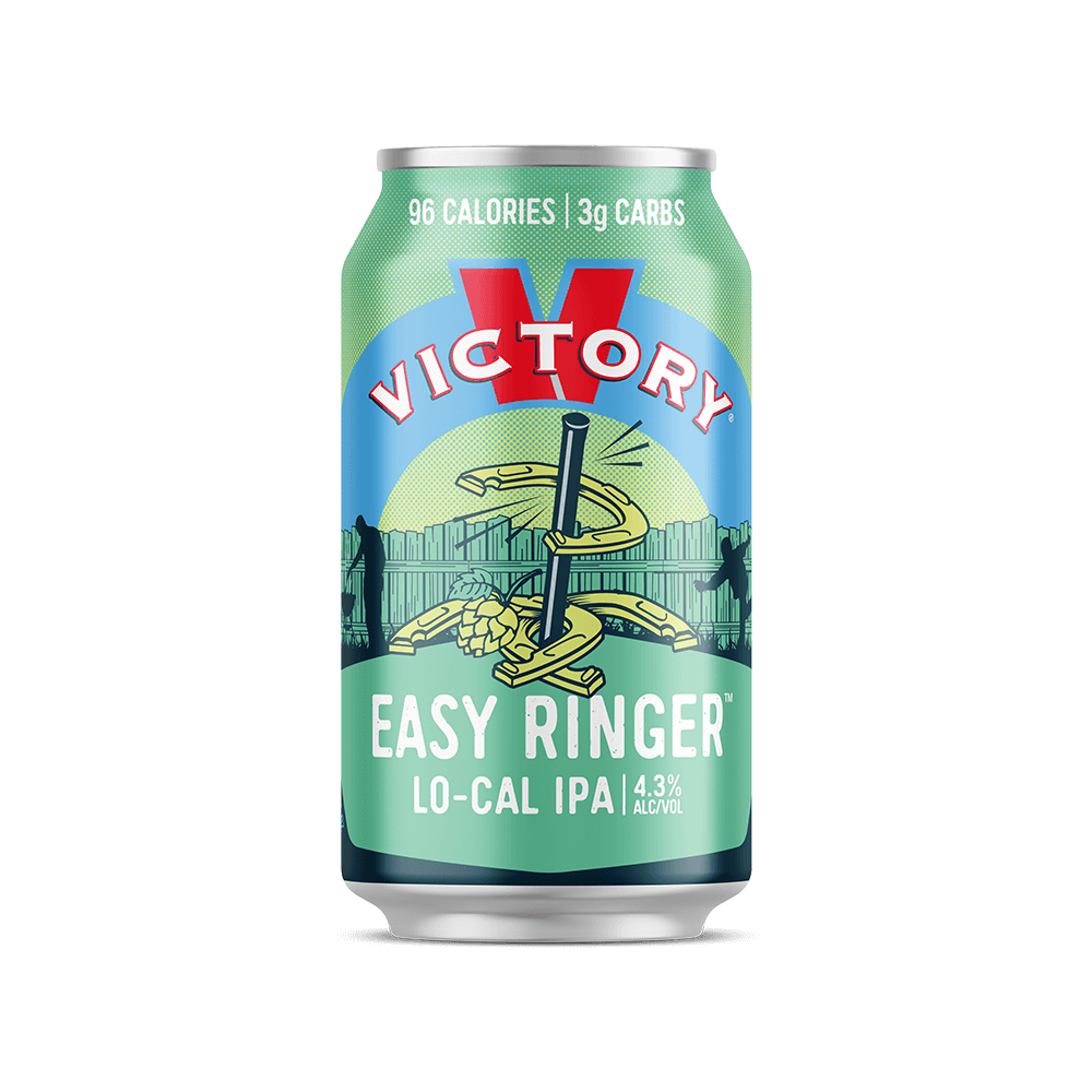 easy ringer victory brewing co. low-calorie beer