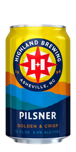 Highland Pilsner by Highland Brewing Co.