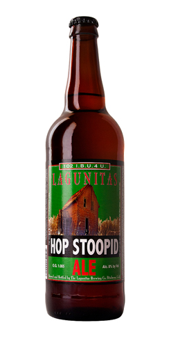 Hop Stoopid by Lagunitas Brewing Co.