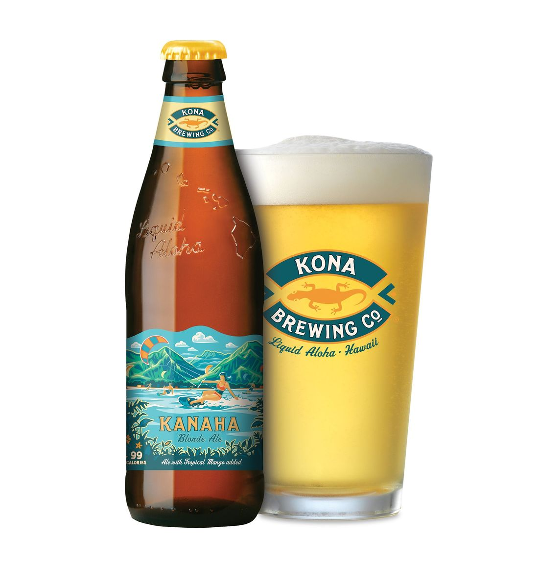 Kahana Blonde  Kona Brewing Co.
