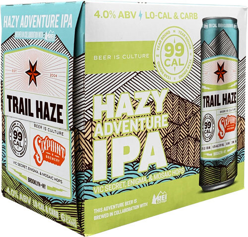 sixpoint brewery trail haze low-calorie beer