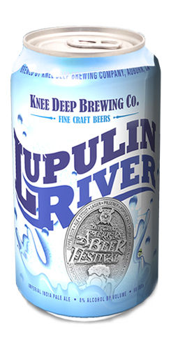 Lupulin River by Knee Deep Brewing Co.