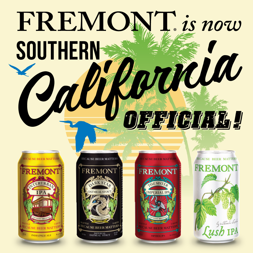 Fremont Brewing Announces Socal Distribution The Beer