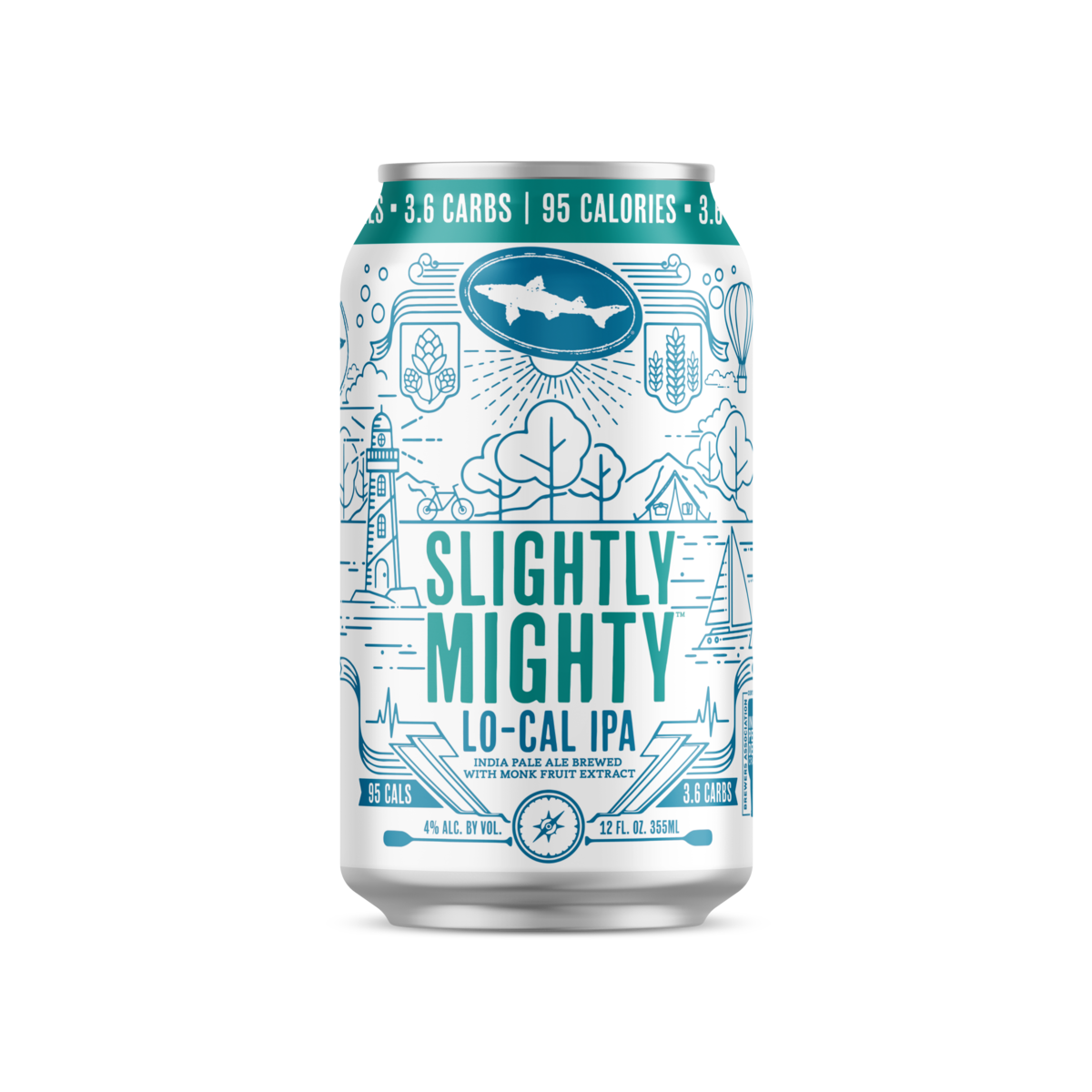 Slightly Mighty India Pale Ale  Dogfish Head Craft Brewery