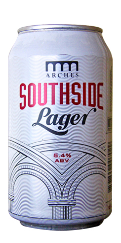 Southside Lager by Arches Brewing