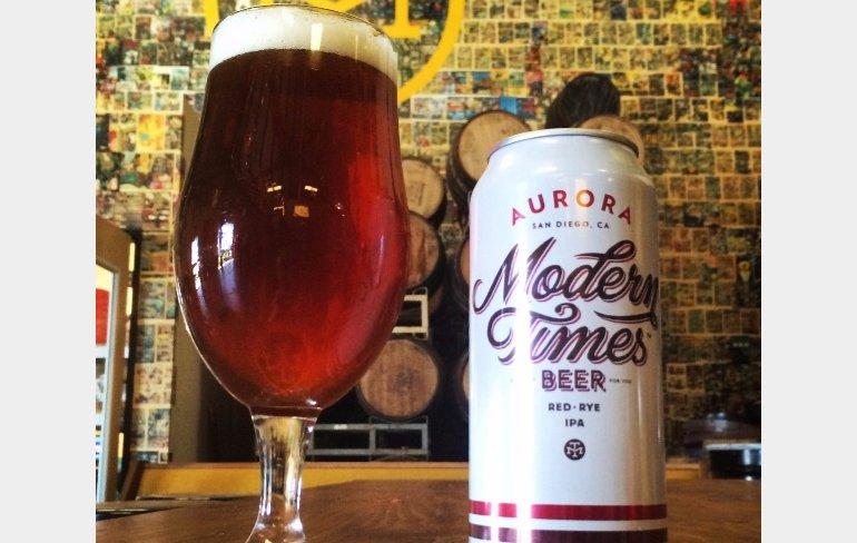 Modern Times Aurora Red IPA