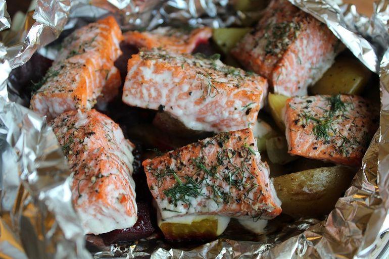 Hobo Salmon Recipe