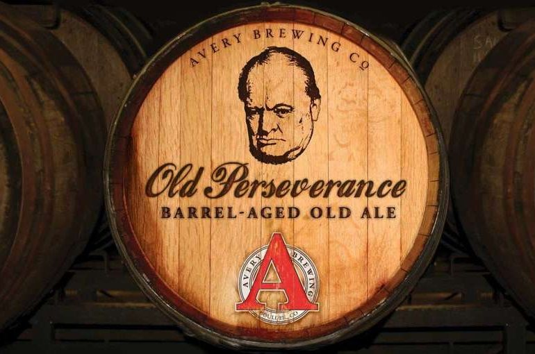 Old Perseverance Label Avery Beer