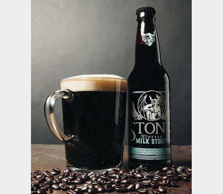 Stone Coffee Milk Stout Beer