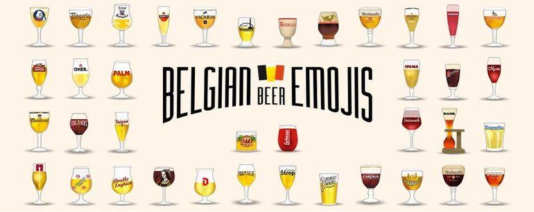 Belgian Beer Emojis