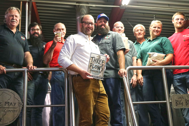 Cape May Brewing Co. Releases Three Plows IPA