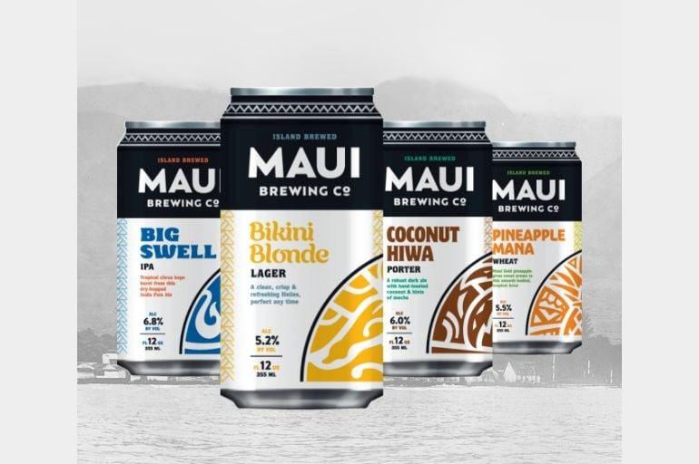 Maui Brewing Co. Rebrand Hawaii Beer