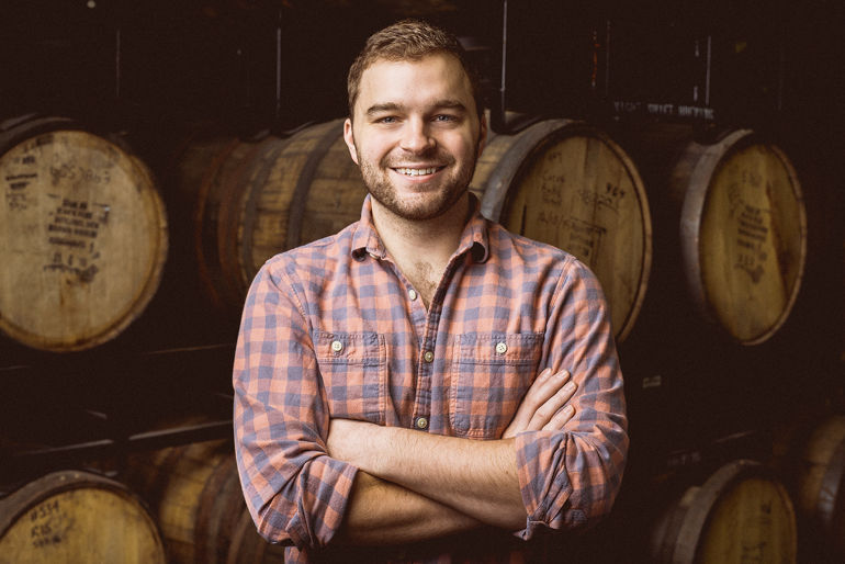 Joe Mashburn, Head Brewer  |  Photo by Tim Oxton