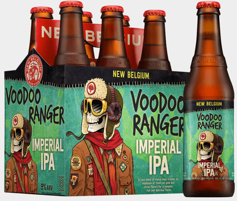 Voodoo Ranger Imperial IPA by New Belgium Brewing Co.