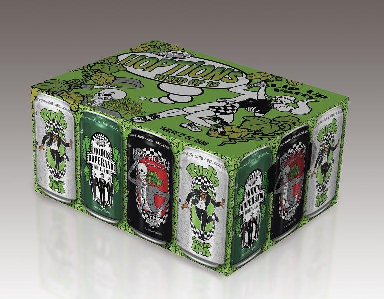 Ska Beer Hoptions IPA 12-pack