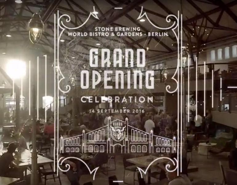 Stone Brewing Berlin - Grand Opening