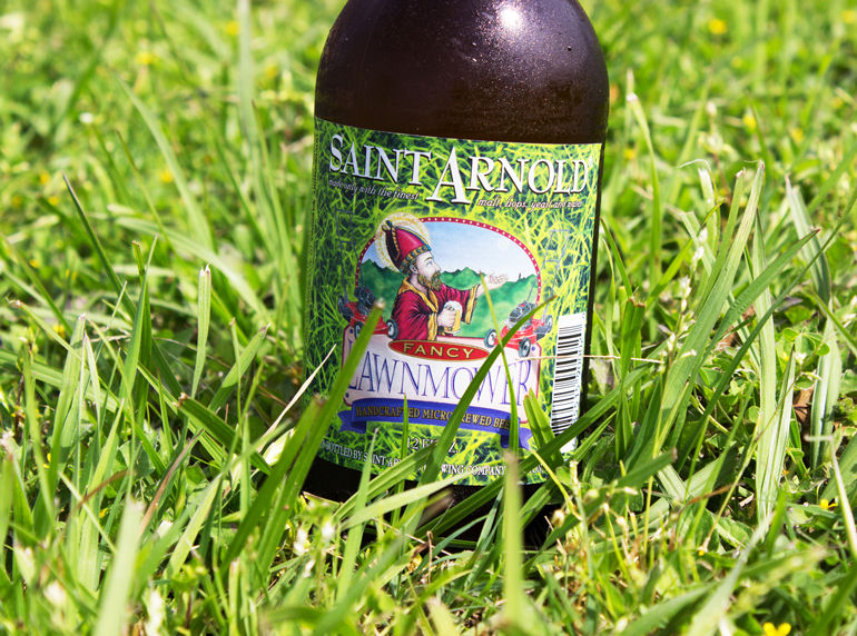 Fancy Lawnmower Beer Saint Arnold