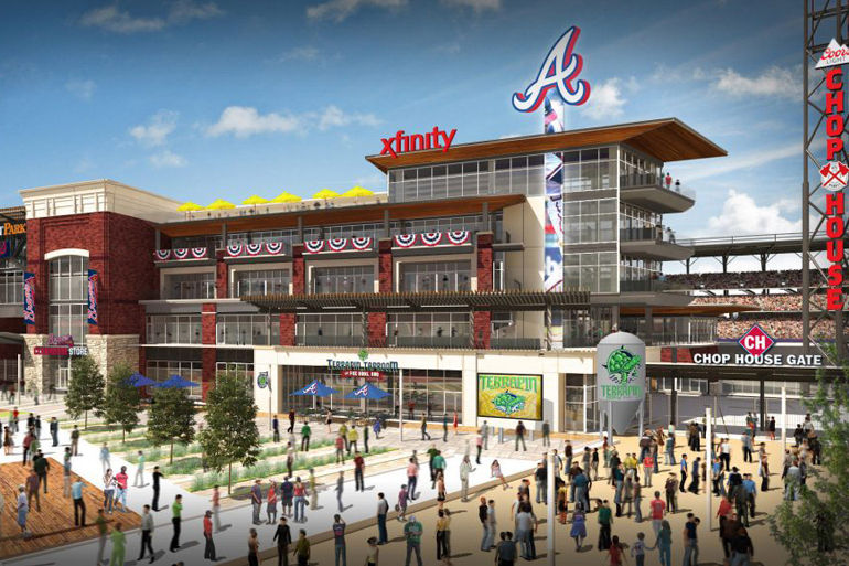 Terrapin Beer Company Gets The Call-Up At SunTrust Park