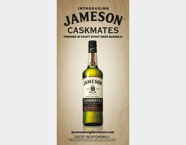 Jameson Whiskey Caskmates