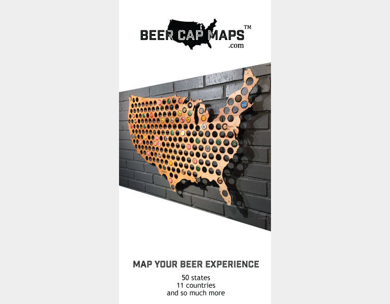 Advertisers Index Issue The Beer Connoisseur - Oregon beer cap map