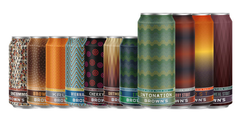 Brown's Brewing Co. has released its first canned Double IPA, Intonation.