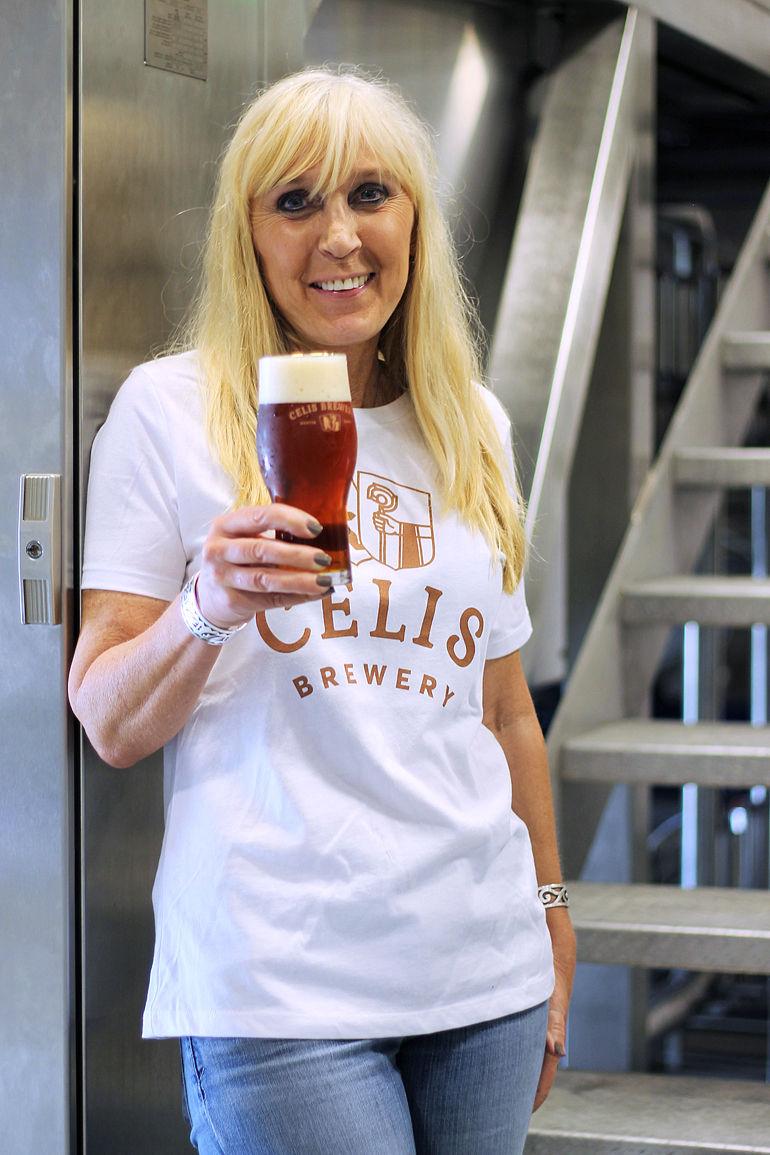 Christine Celis of Celis Brewery in Austin, Texas