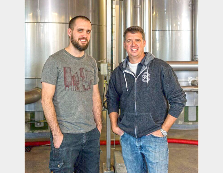 Brewing With: Todd Usry (right) of Breckenridge Brewery