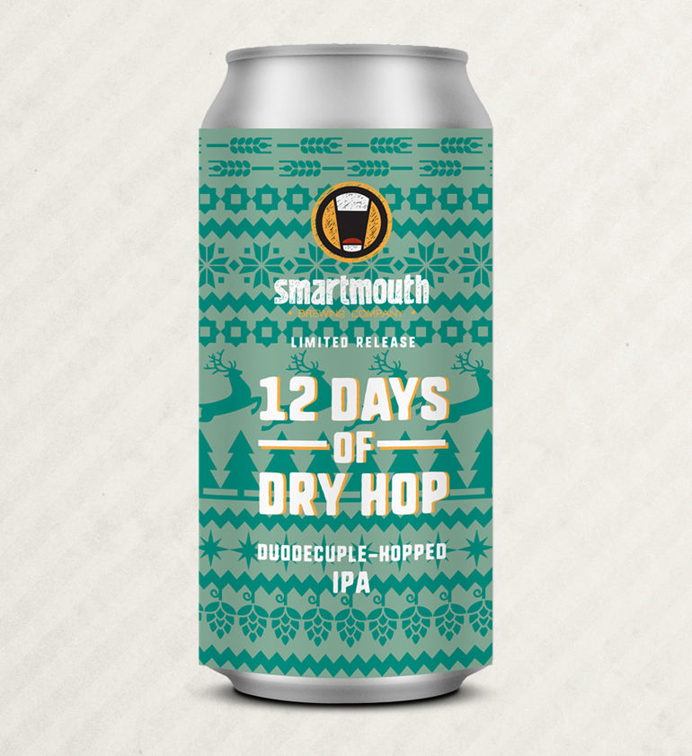 12 Days of Dry Hop by Smartmouth Brewery