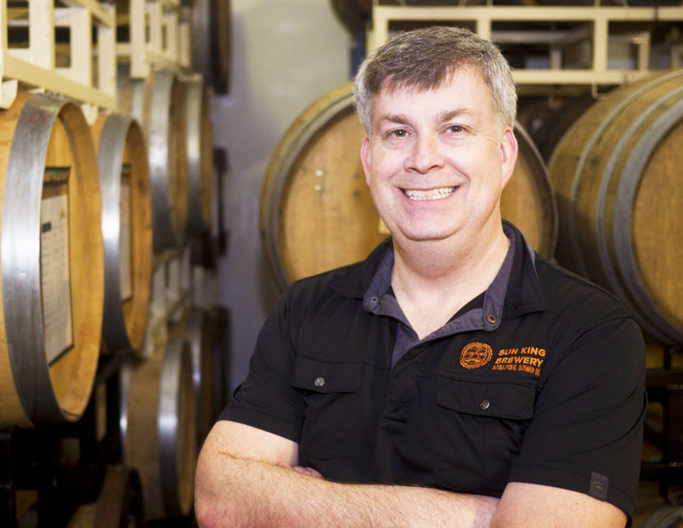 Sun King head brewer and co-founder Dave Colt
