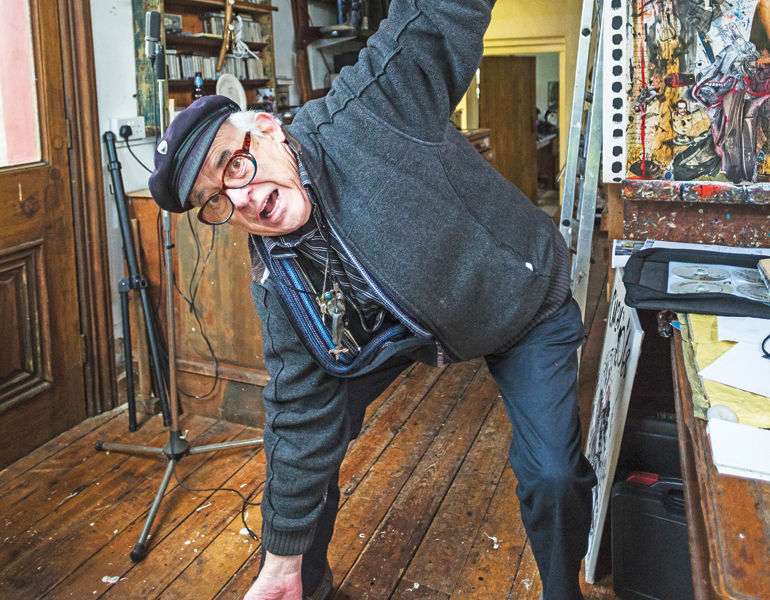FEATURES - Ralph Steadman: Fear And Laughter