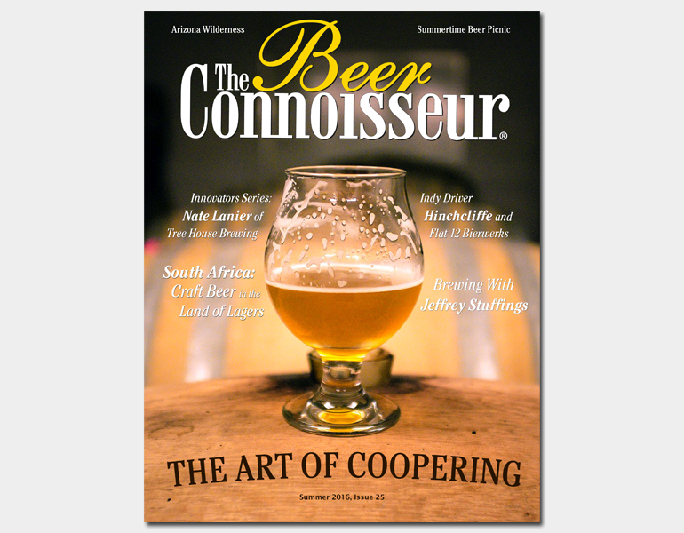 THE BEER CONNOISSEUR – Summer 2016, Issue 25
