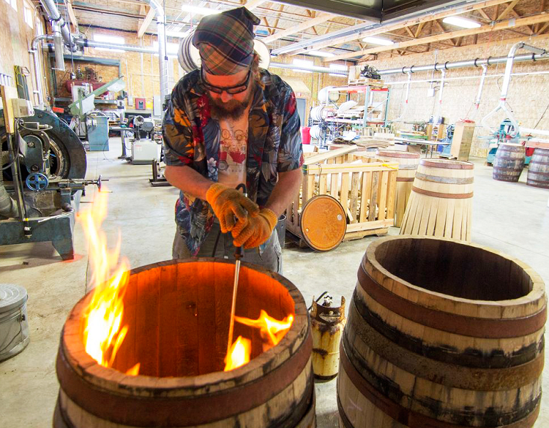 FEATURES – The Art of Coopering (Photo Credit: Rogue Ales & Spirits)