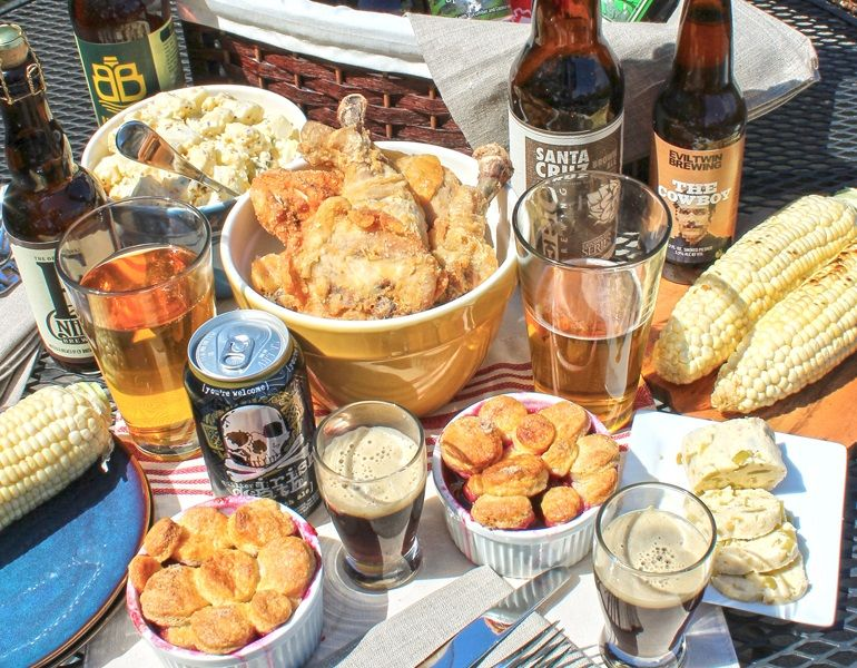 FOOD & TRAVEL – Summertime Beer Picnic (Photo Credit: Sherry Dryja)