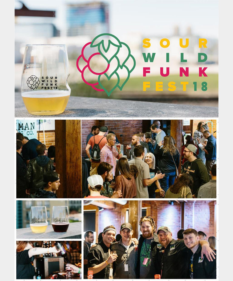 Upland Brewing Sour Wild Funk Fest 2018