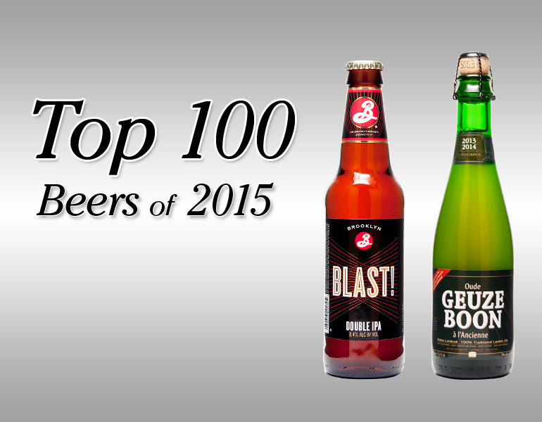 TOP 100 RATED BEERS OF 2015 beer connoisseur