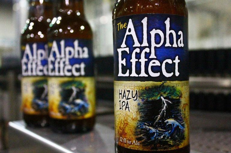 Alpha Effect Hazy IPA by Heavy Seas Beer